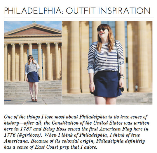 PHILLY - OUTFIT INSPIRATION
